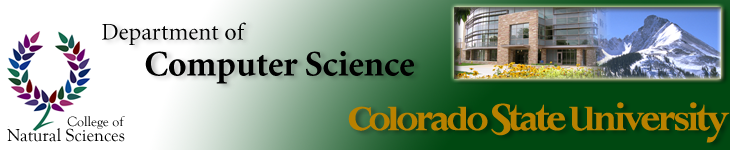 Colorado State University Department of Computer Science