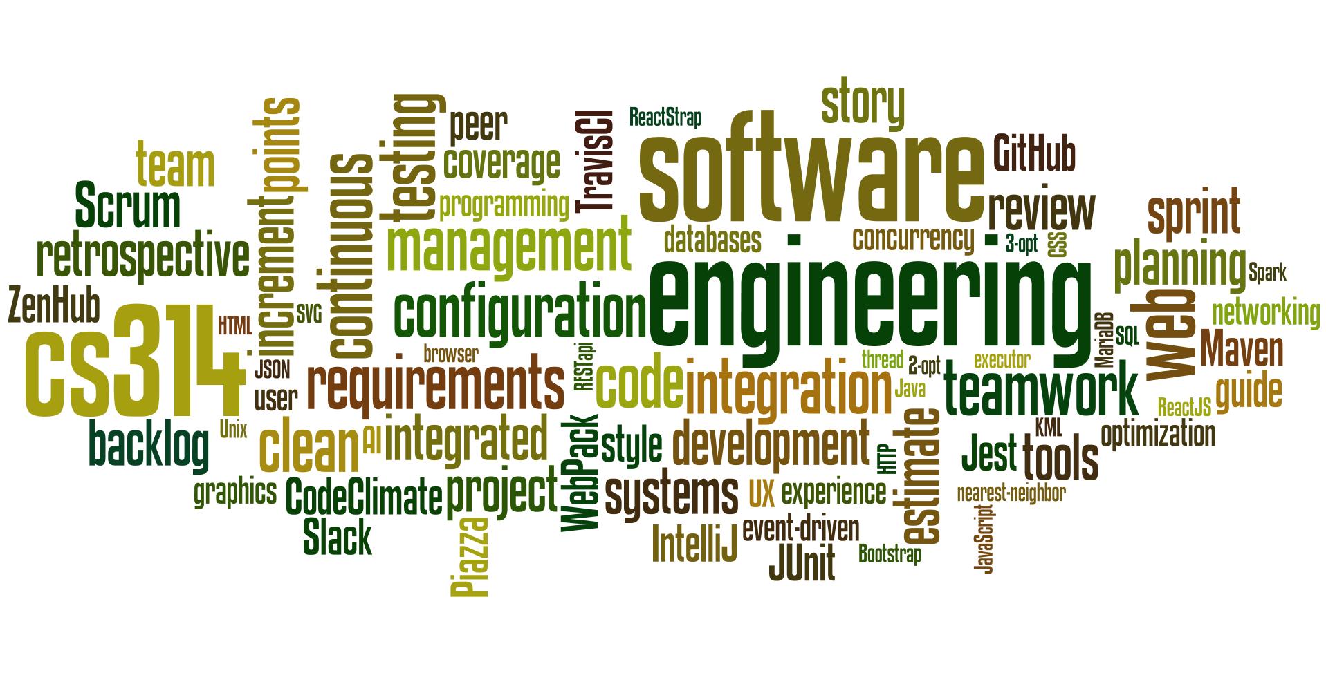 CSU CS314 Software Engineering
